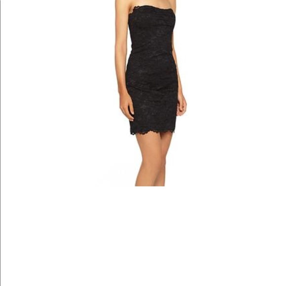 74c94ba2 Nicole Miller Dresses | Womens Strapless Lace Sheath Dress | Poshmark
